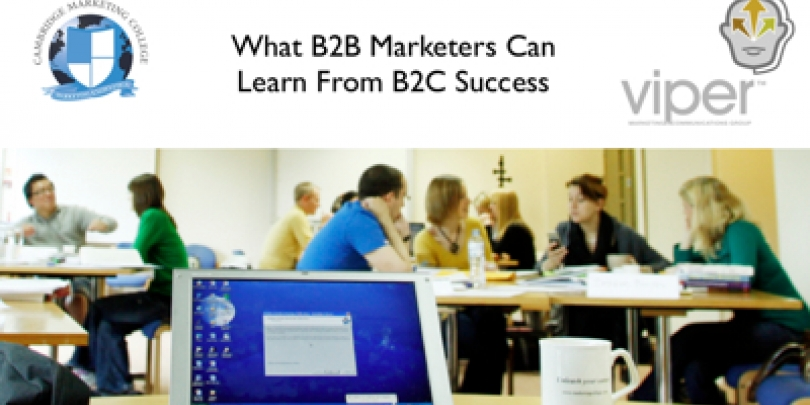 What B2B Marketers Can Learn From B2C Success