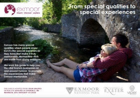UPDATE: Marketing Exmoor Experiences - From Special Qualities to Special Experiences