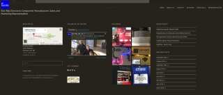 Example of image-rich content and multiple links to choreograph the visitor's journey