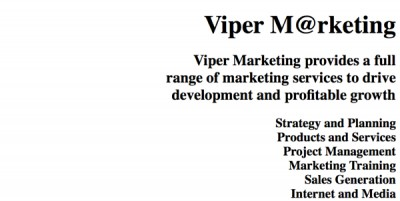 Viper Marketing 2003